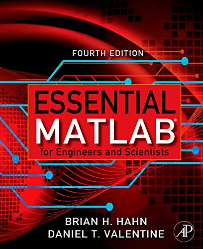 Essential Matlab for Engineers and Scientists (Hahn and Attaway Bundle)