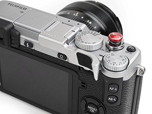 Lensmate Thumb Grip for Fujifilm X-E2S (Also fits X-E2/X-E1) - Silver