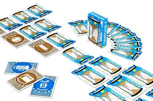JJS Production Sanduhr - Das ultimative Trinkspiel - Partyspiel aus Saufsack - Die Trinkspielesammlung - lustiges Saufspiel und Geschenkidee für Erwachsene oder zum 18. Geburtstag
