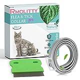 Rmoliity Floh- und Zeckenhalsband für Katzen, 8 Monate Zecken- und Flohbekämpfung, Behandlung mit...