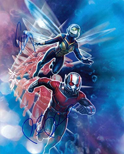 Factory outlet Ant-Man and the Wasp Paul Lilly Rudd signed Overseas parallel import regular item Evangeline 8x10