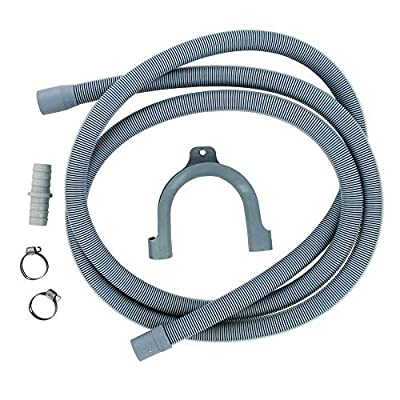 FIND A SPARE Drain Hose Extension Pipe Kit 2.5m For Washing Machine Washer Dryer Dishwasher