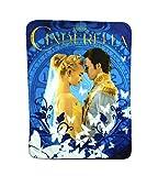 Cinderella 'Royal Couple' Fleece Character Blanket 46 x 60-inches