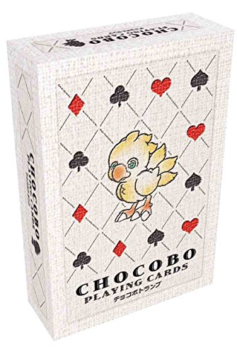 Square Enix SQX0031 Chocobo Playing Cards