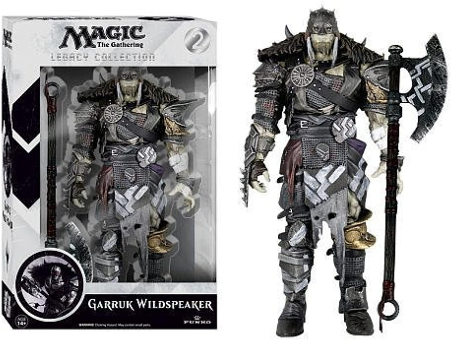 Magic The Gathering Legacy 6 Inch Action Figure Garruk Wildspeaker by Funko