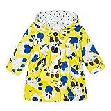 Catimini Cn42063 Chaqueta, Amarillo (Mid Yellow 72), 3-6 Meses (Talla del Fabricante: 6M) para Bebés