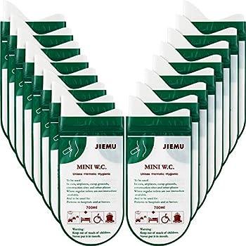 16 Pièces Sacs d'Urine Jetables Sacs de Pipi de Camping Sac d'Urinoir Portable pour le Camping Voyage Toilettes Voiture d'Urgence Sac de Pipi de Toilette pour Hommes Femmes Enfants Patient (Vert)