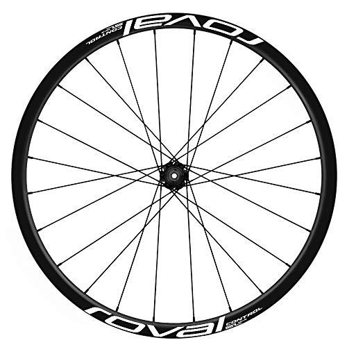 Pegatinas Llantas Bicicleta 29' ROVAL Control SL WH23 VINILOS Ruedas Blanco