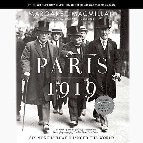 Paris 1919 audiobook cover art