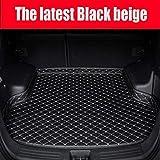PanYFDD Mats Maletero del Coche Car Styling Alfombra for Mercedes Benz GLA 200 220 250 260 200 260 220d GLC 300 220d 250d 350e AMG Coupe (Color : High SID Black Beige)