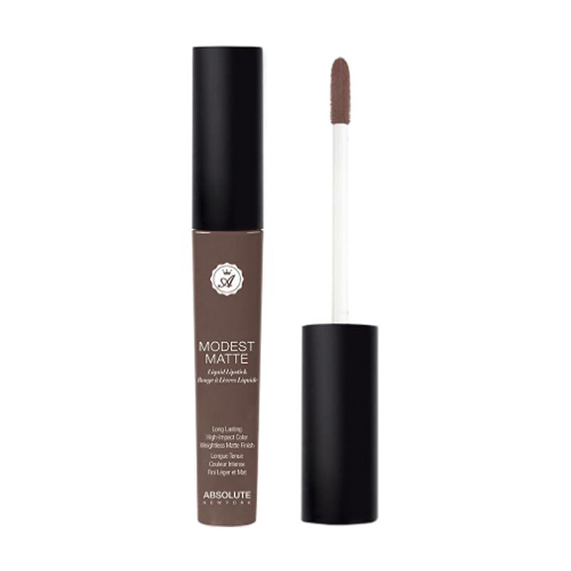 ブランドタバコ学習者ABSOLUTE Modest Matte Liquid Lipstick - Closed Curtain (並行輸入品)