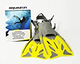 AQUAZON Barracuda verstellbare Flossen, Schnorchelflossen, Taucherflossen, Schwimmflossen, Diving...
