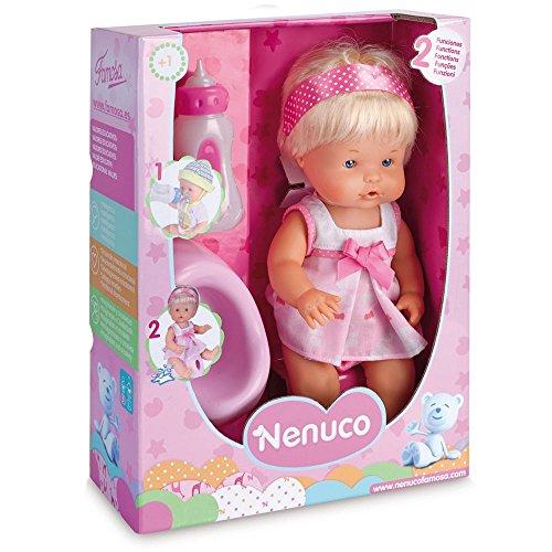 Famosa France - Fam700012665B - Nenuco boit et fait pipi, la petite fille