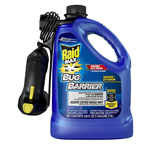 Raid Max Bug Barrier Starter, 128 OZ (Pack - 1)