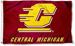 CMU Central Michigan Chippewas University Large College Flag