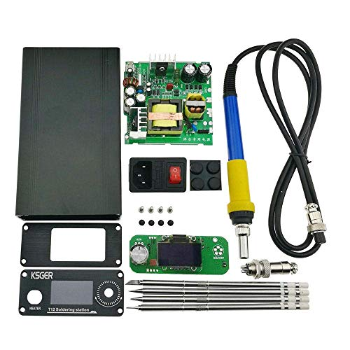 JKUNYU Refrigeración Automática Herramientas eléctricas, STM32 OLED KSGER 2.0 DIY Unidad eléctrica DIGITAL SOLDADOR DE SOLDADOR DE IRONA CONTROLADOR DE TEMPERATURA PARA HAKKO T12 Accesorios de soldadu