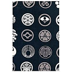 Hamamonyo Japanese Traditional Kamon Design Chusen Tenugui Towel