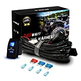 WOWLED High-end Wiring Harness Kit, LED Light Bar Wiring Harness Kit for Off Road Lights LED Light Bar with...