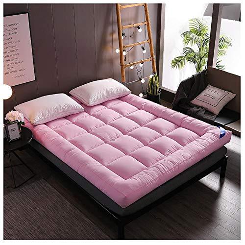 AKEFG Tatami Estera del Piso, Plegable futón colchón Suave, Grueso japonés Estudiante Dormitorio Colchón, Engrosamiento colchón,E,90 * 200cm