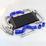 Front Mount Intercooler+Pipe Kit for Audi A4 1.8T Turbo B6 Quattro 02-06 Blue