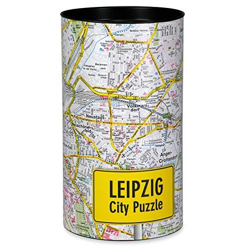 Extragoods City Puzzle Leipzig Premium Puzzle Erwachsenenpuzzle Spiele Puzzle Städtepuzzle