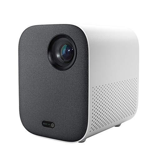 ProyectorProyector Compacto 1080P 4K Video 500 ANSI Lumens Mount Proyección HDR10 2.4G 5G WiFi 2GB + 8GB Proyector Portátil Para Cine En Casa 220VPortátil Y Adecuado Para Uso Doméstico Y De Oficina