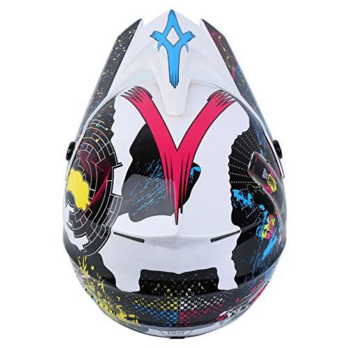 Product Image 9: Samger DOT Adult Offroad Helmet Motocross Helmet Dirt Bike ATV Motorcycle Helmet Gloves Goggles
