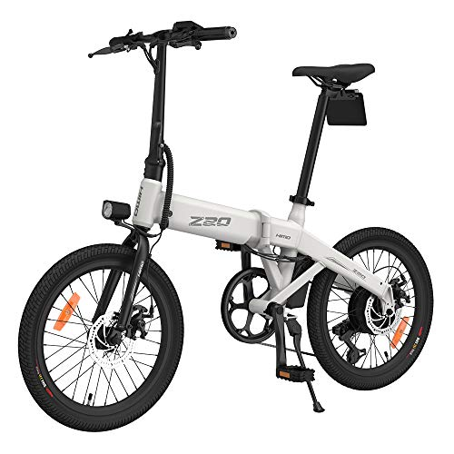 HIMO Z20 Bicicleta Eléctrica, Bicicleta Eléctrica Plegable con Asistencia de Potencia para...
