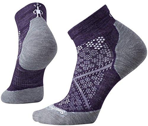 Smartwool pour Femme PHD Le LC Chaussettes de Course M Mountain Purple