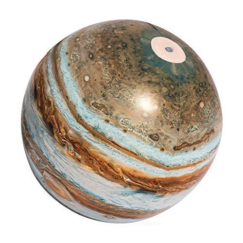 BESTWAY 31043 Jupiter Explorer Glowball, Wasserball, Multicolor