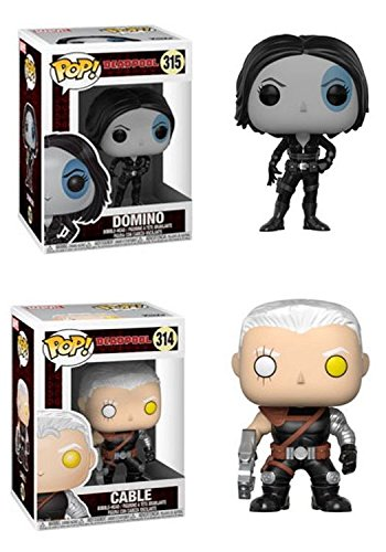 Funko POP! Marvel Deadpool: Domino + Cable