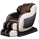 Nfudishpu First Class Massage Chair Bluetooth Extra Long SL Guide Electric Automatic Kneading Heating...