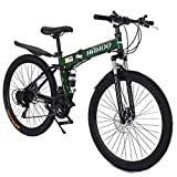 Best Foldable Bikes - Conversege Adult Mountain Bikes 26 Inch Mountain Trail Review