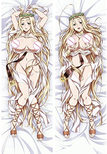 HCYSNG Kuroinu -Kedakaki Seijo wa Hakudaku NI Somaru Modern Decorative Anime Pillow Covers Cushion Hold for Sofa Bedroom Car Home Decor Peach Skin 59 inch x 19 6 inch(150 x 50cm)
