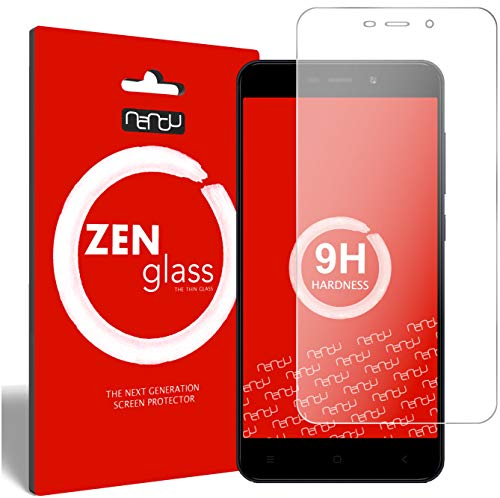 ZenGlass Flexible Glas-Folie kompatibel mit Xiaomi Redmi 4A Panzerfolie I Bildschirm-Schutzfolie 9H
