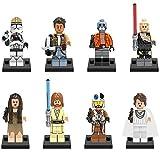 BAS Star Wars Personajes de Anime Muñecos Y Figuras De Acción Serie Clone Troopers Figuritas...