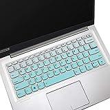 Lenovo Yoga C740 14 Keyboard Cover for Lenovo Yoga C940 14 Laptop Keyboard Skin, ThinkBook 14s & 13s Laptop Keyboard Cover Protector, Ombre Mint (NOT for 15.6' Lenovo Yoga C740 C940)