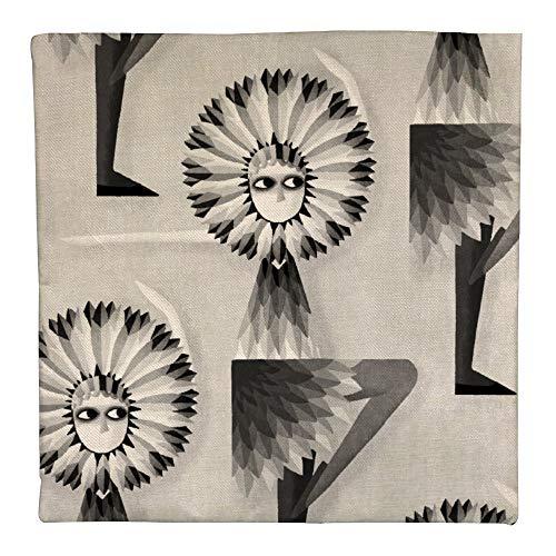 CHUNZO Busby Dancers Leinen Kissenbezug dekorative quadratische geometrische Tierform Sofa Schlafzimmer Schlafsaal Bar Cafe doppelseitige Persönlichkeit Dekor Geschenk