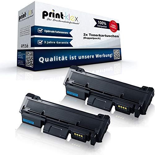 2x Kompatible Tonerkartuschen für Samsung Xpress M 2835 DW Premium Line Xpress M 2875 FD Doppelpack MLT-D116L/ELS 116L MLTD116LELS MLT D116 MLT-D116LELS MLT 116 ELS