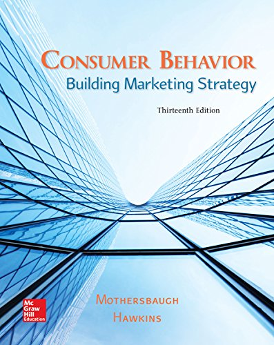 eBook Online Access for Consumer Behavior: Building Marketing Strategy