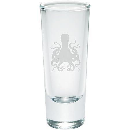 Octopus shot glass set of 2