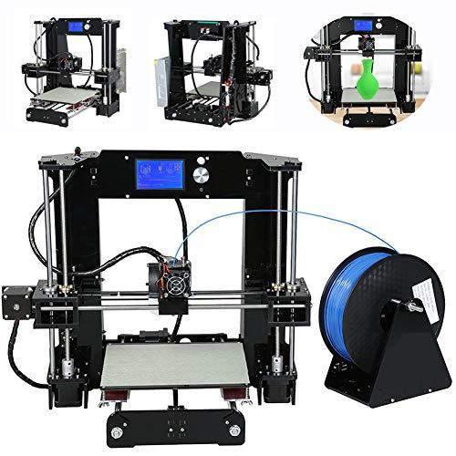 Stampante 3D Tridimensionale Stampante Stereo Ad Alta Precisione Stereo Il Kit di Stampante 3D per Stampante Fai-da-Te può Essere Costruito da Solo