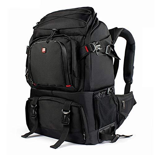 Oumij DSLR-Kamera-Rucksack im Freien Super große Kapazität Kamera Rucksack Tasche Kann eine Kamera, Objektive und andere Fotografie-Einzelteile setzen
