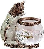 YSDHE Adorno para pecera, Acuario, Pesca, Gato, pez Dorado, decoración de Acuario, Regalo de Animales