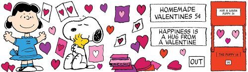 Eureka Teacher Supplies Snoopy Peanuts Valentine Bulletin Board Set, 38 pcs Photo #2