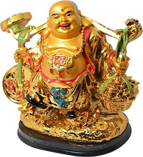 Nexxa Feng Shui Standing Shravan Laughing Buddha Happy...