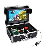 Monitor de Color de 10'Pulgadas 720p 1000TVL Pesca bajo el Agua Kit de cámara de Video 50M Cable Fish Finder WiFi Visualización inalámbrica Admite el Registro de Video y Tome la Foto,15m