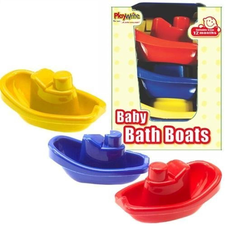 Baby Bath Boat Set of 3