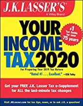 J.K. Lasser's Your Income Tax 2020: For Preparing Your 2019 Tax Return