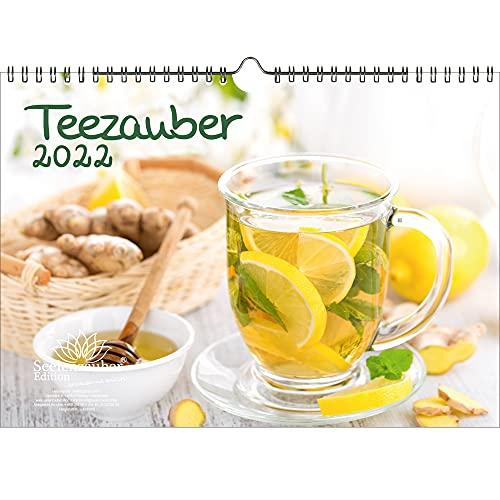 Teezauber DIN A4 Kalender für 2022 Tee - Seelenzauber